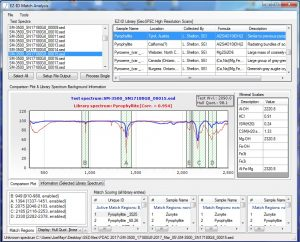EZ-ID mineral identification software