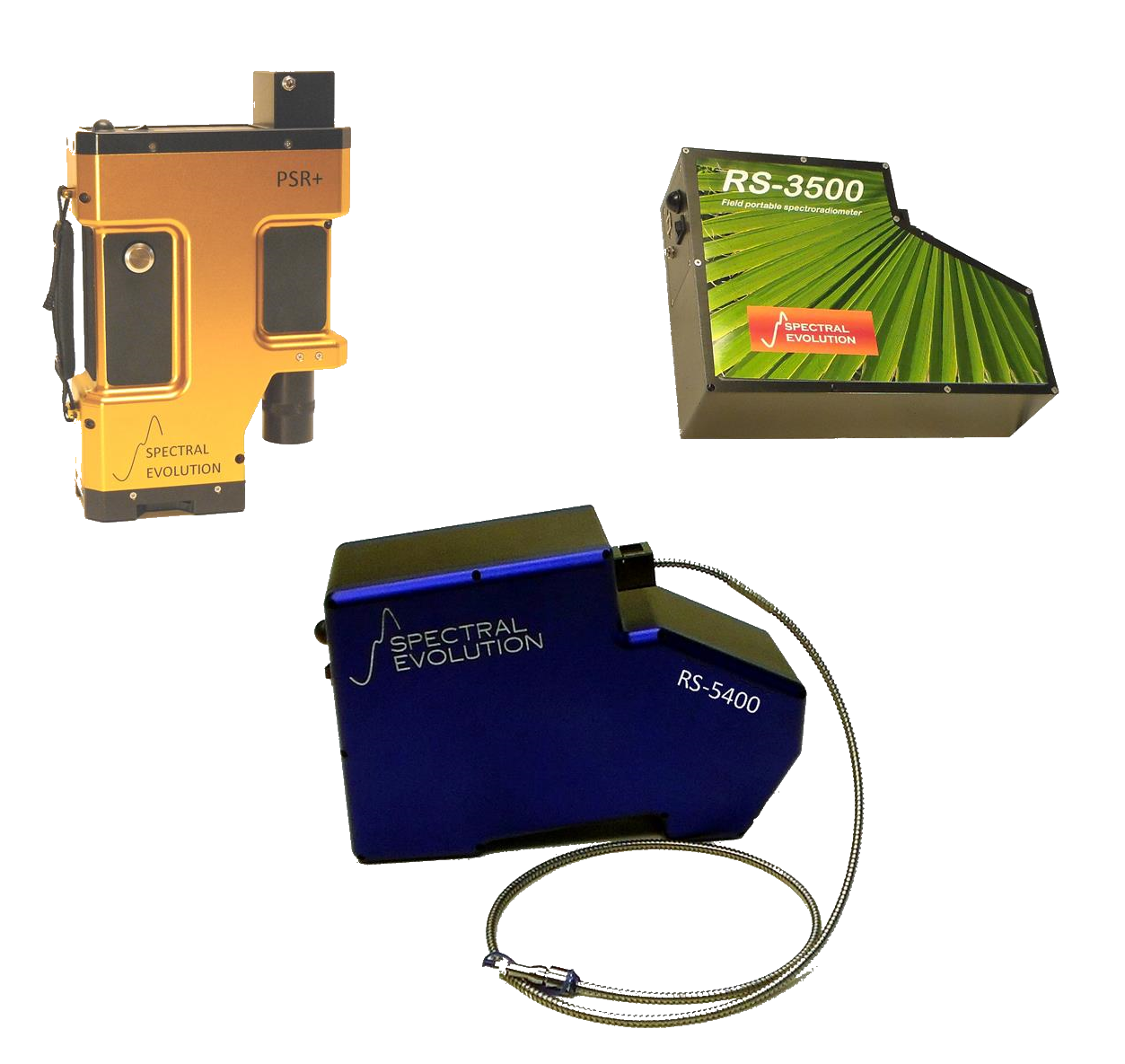 Field portable spectroradiometers for remote sensing